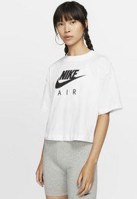 Nike Sportswear - AIR  - Print T-shirt - white - 0