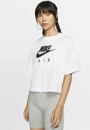 AIR  - T-shirt imprimé - white