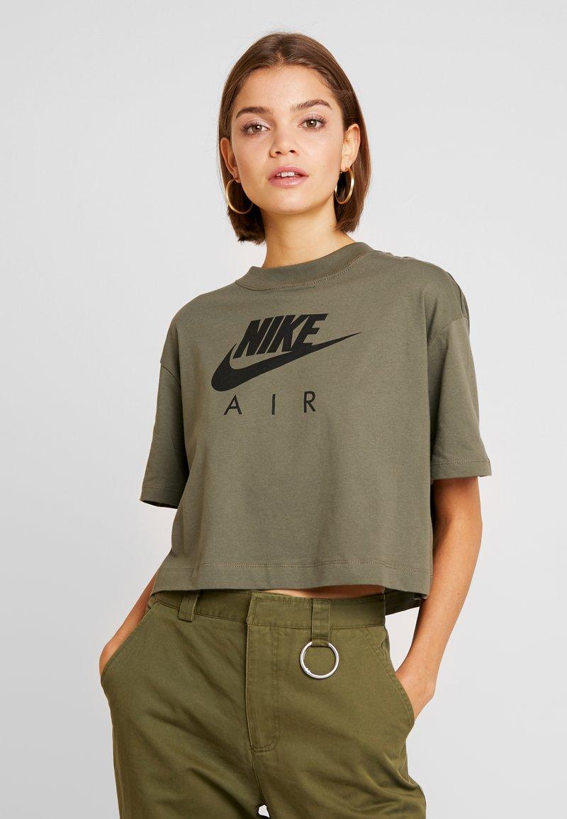 Nike Sportswear - AIR  - Camiseta estampada - medium olive