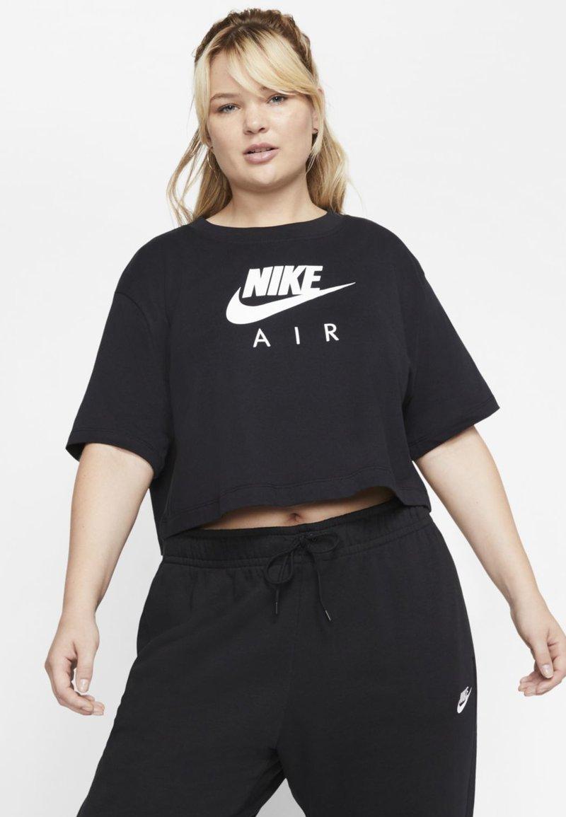 Nike Sportswear - W NSW AIR SS PLUS - T-Shirt print - black