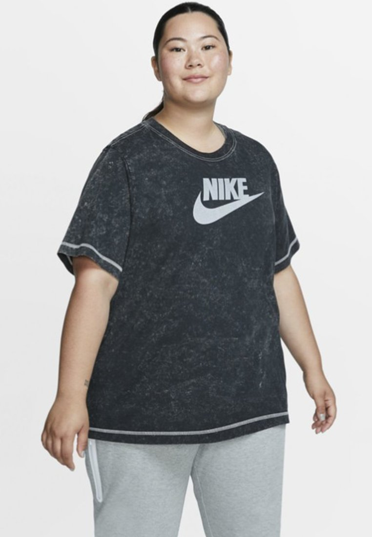 Nike Sportswear - REBEL PLUS - T-Shirt print - black