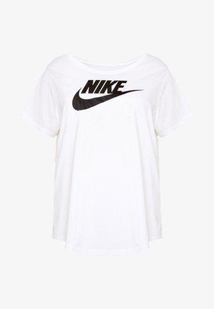 TEE FUTURA PLUS - T-shirt con stampa - white/black
