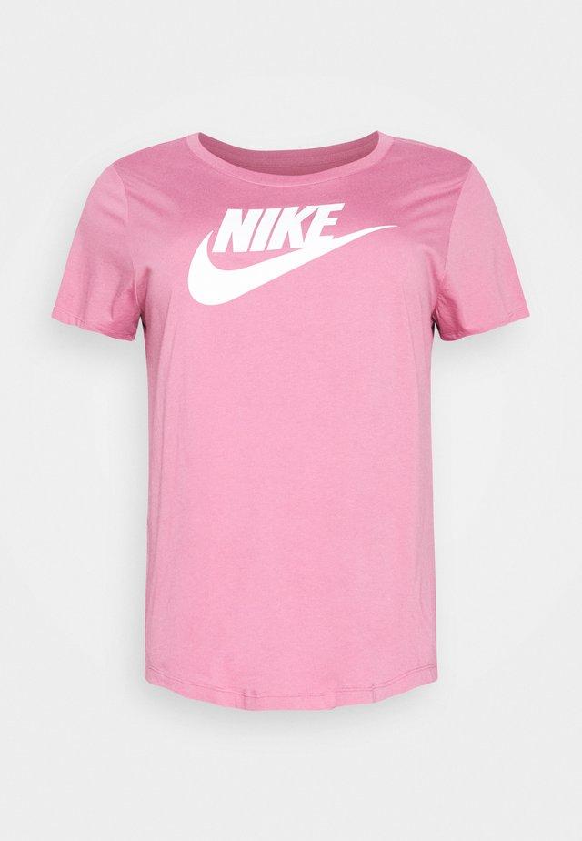 TEE FUTURA PLUS - T-shirt print - desert berry