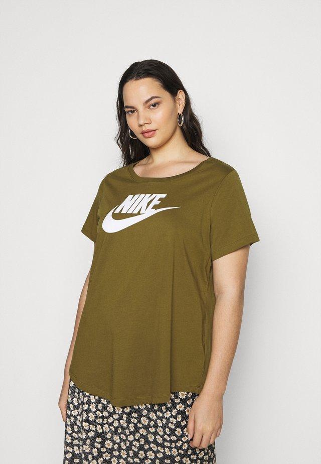 TEE FUTURA PLUS - T-Shirt print - olive flak