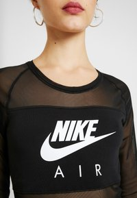 Nike Sportswear - AIR BODYSUIT - Topper langermet - black - 5