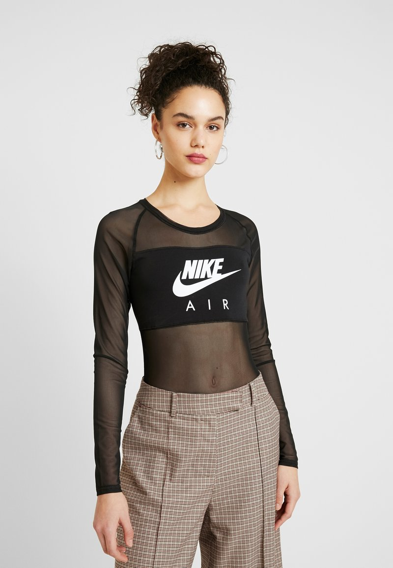 Nike Sportswear - AIR BODYSUIT - Topper langermet - black
