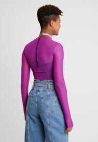 Nike Sportswear - CITY BODYSUIT - Top sdlouhým rukávem - vivid purple - 2