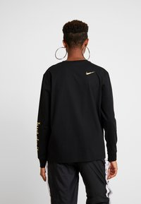 Nike Sportswear - W NSW TOP LS SHINE - Top s dlouhým rukávem - black