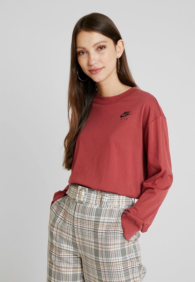 Nike Sportswear - AIR - Pitkähihainen paita - cedar