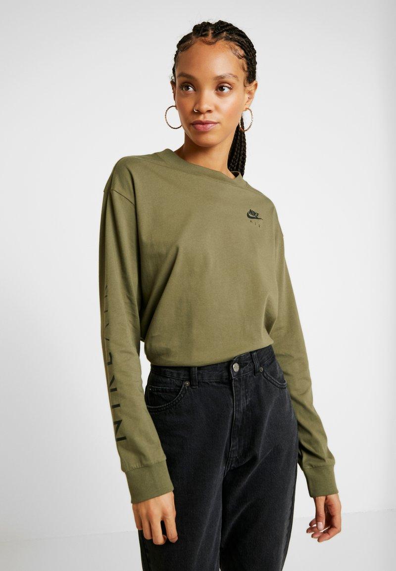 Nike Sportswear - AIR - Topper langermet - medium olive