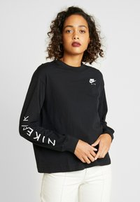 Nike Sportswear - AIR - T-shirt à manches longues - black - 0