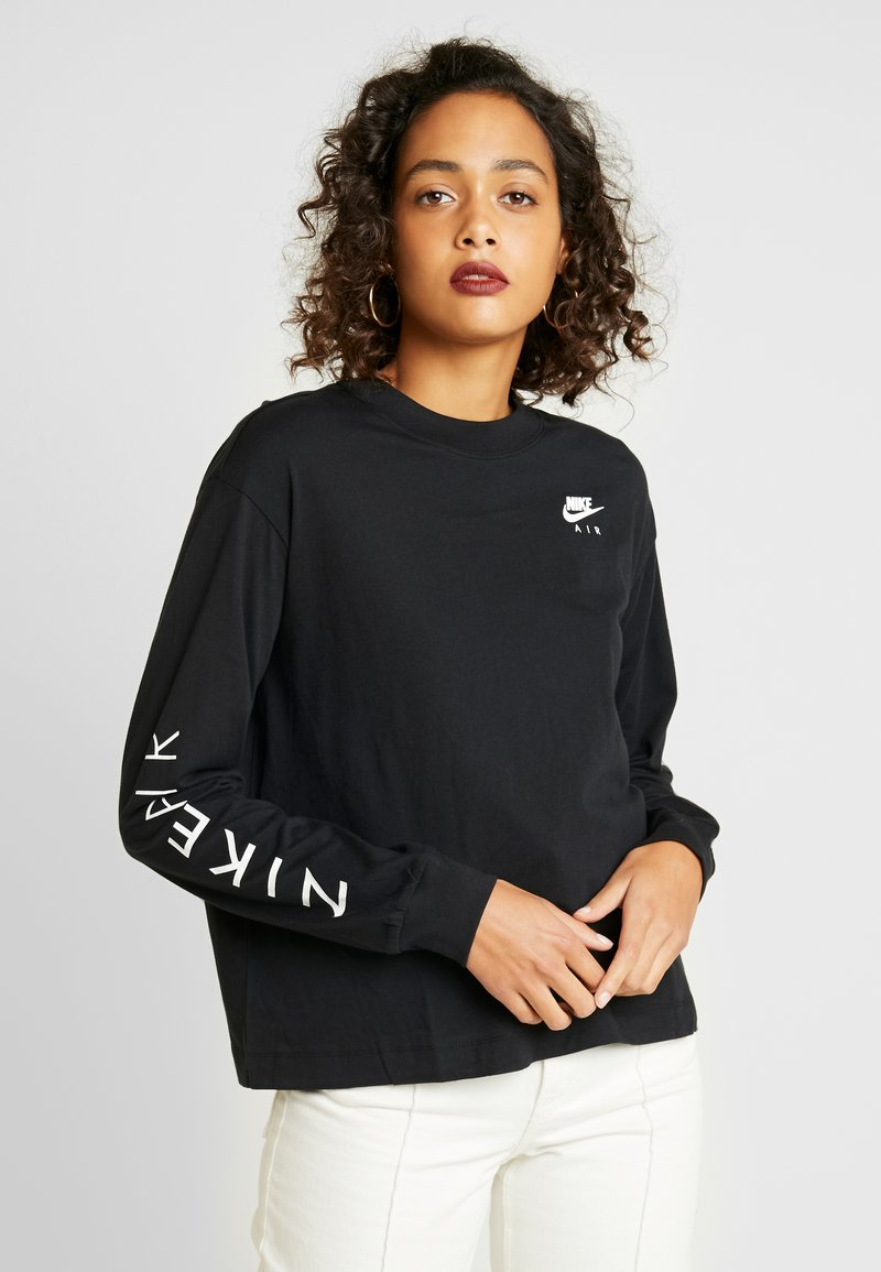 Nike Sportswear - AIR - T-shirt à manches longues - black