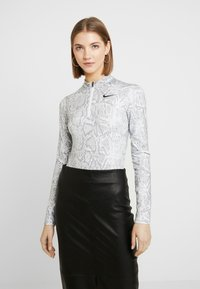 Nike Sportswear - Långärmad tröja - white/black - 0