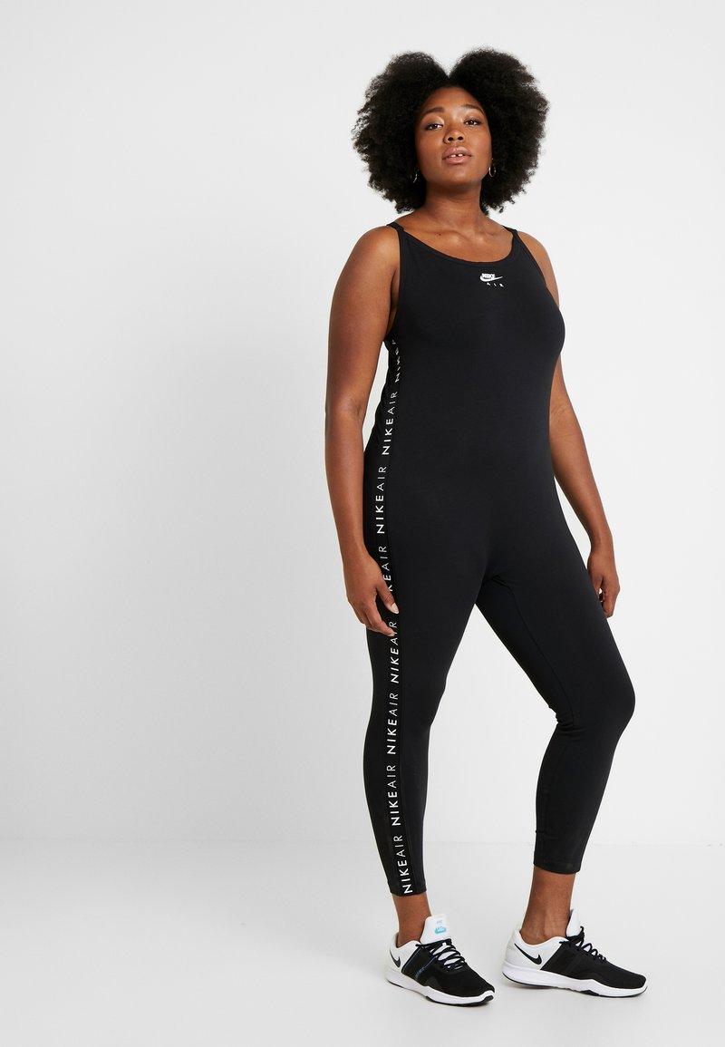Nike Sportswear - AIR BODYSUIT LONG - Overal - black/white