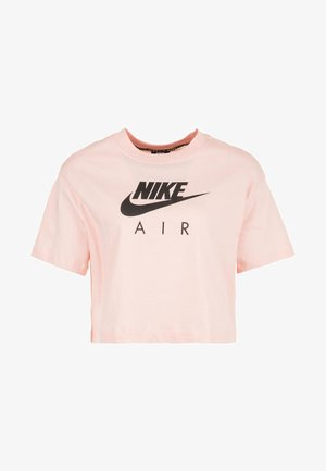 T-shirt con stampa - echo pink