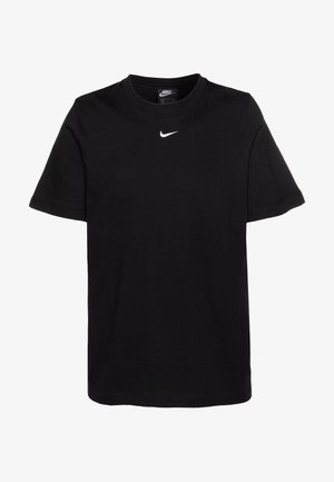 W NSW ESSNTL TOP SS BF - T-shirts - black