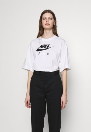 AIR - T-shirt con stampa - white