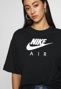 Nike Sportswear - AIR - T-Shirt print - black - 5