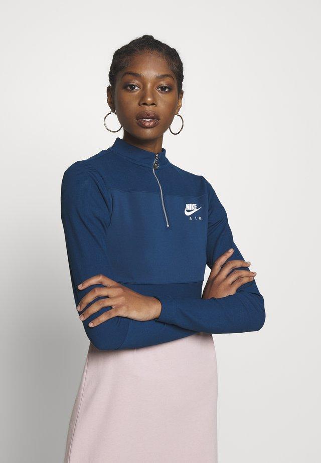 AIR - Long sleeved top - valerian blue/ice silver