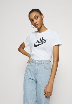 VARSITY - T-Shirt print - white/off noir
