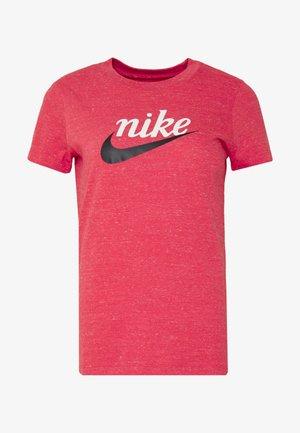 VARSITY - T-shirt imprimé - track red