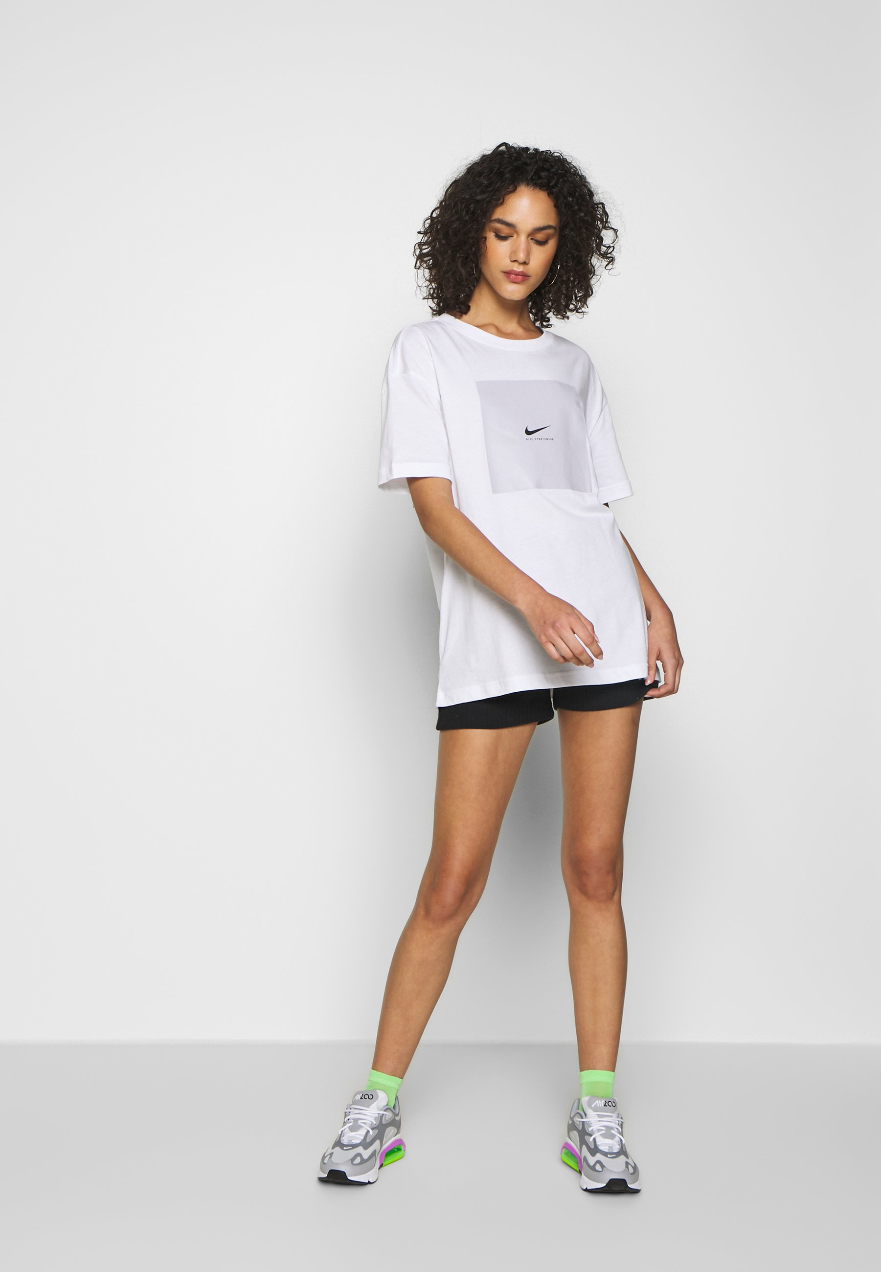 TEE OVERSIZED LUX T shirt imprimé white