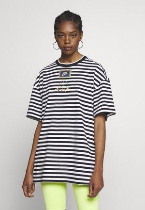 PEACE - T-shirt med print - black/white