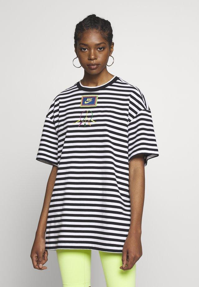 PEACE - Camiseta estampada - black/white