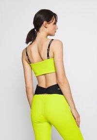 Nike Sportswear - W NSW TOP JDI RIB - Top - bright cactus - 2