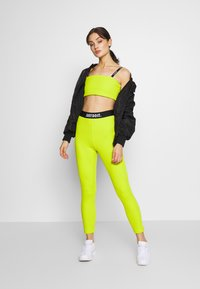 Nike Sportswear - W NSW TOP JDI RIB - Top - bright cactus - 1