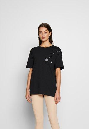 TEE NOVEL - Camiseta estampada - black/white