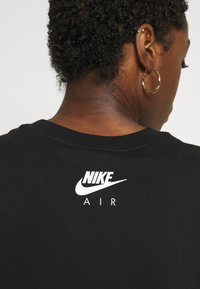 Nike Sportswear - AIR CROP - Printtipaita - black - 3