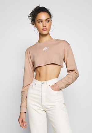 AIR CROP - Long sleeved top - shimmer