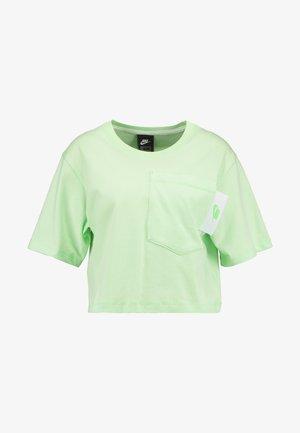 Camiseta estampada - vapor green/white