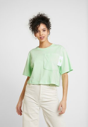 T-shirts med print - vapor green/white