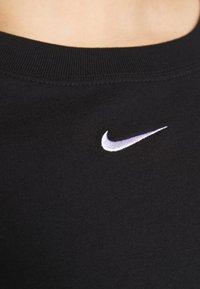 Nike Sportswear - T-shirt basic - black/white - 5