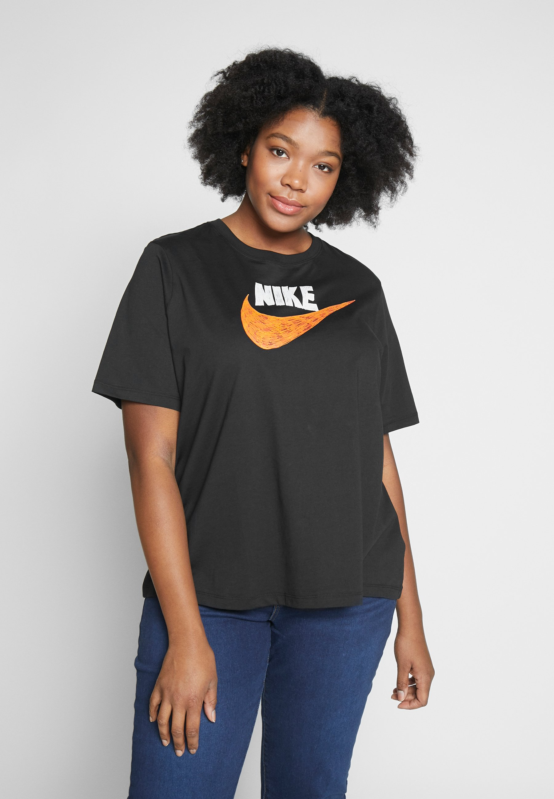 Nike Sportswear T-shirts med print - black