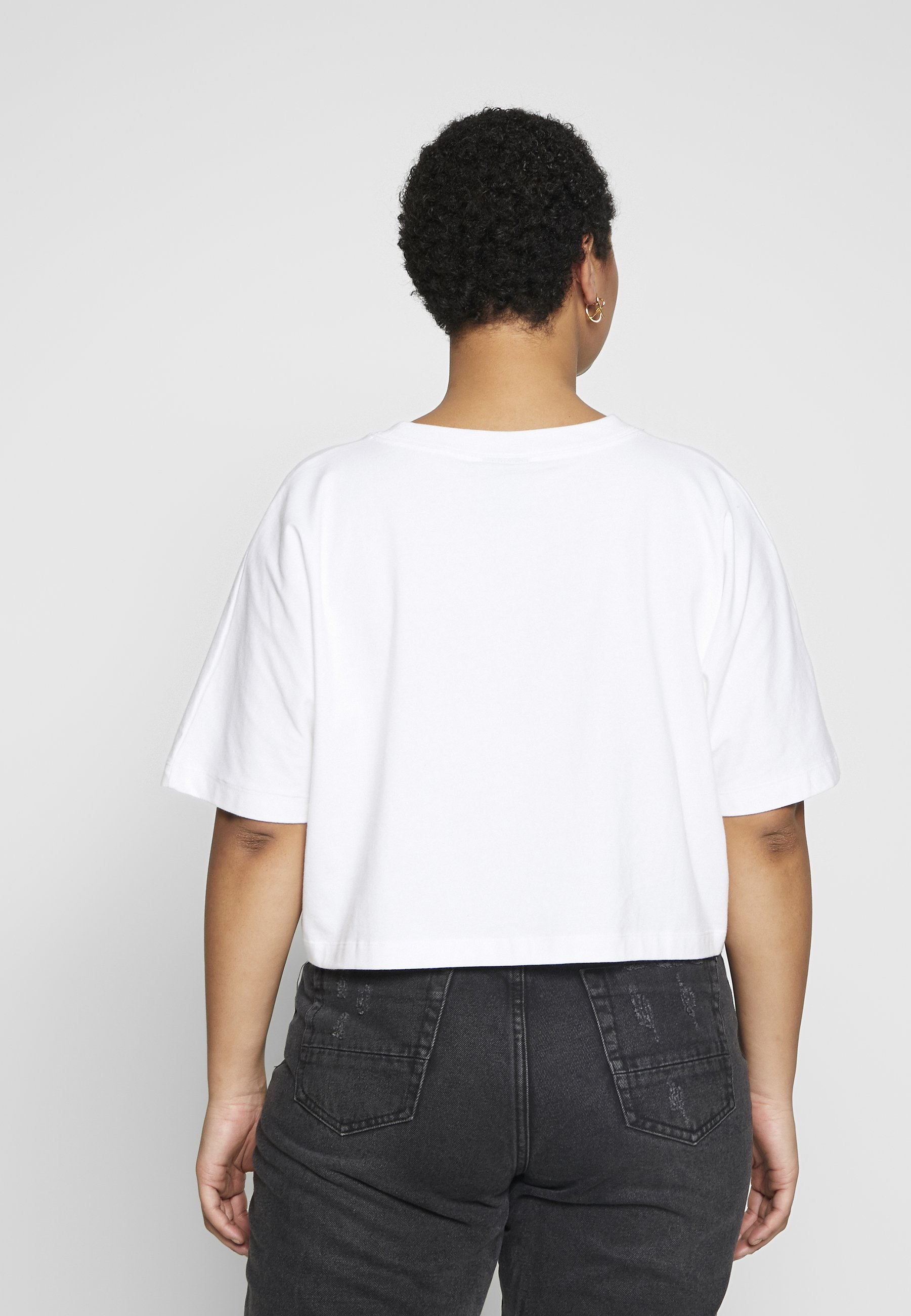Nike Sportswear T-shirts med print - white/black