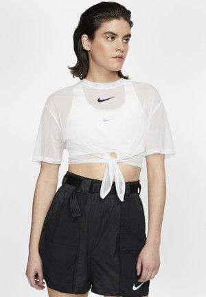 INDIO - Print T-shirt - white/black