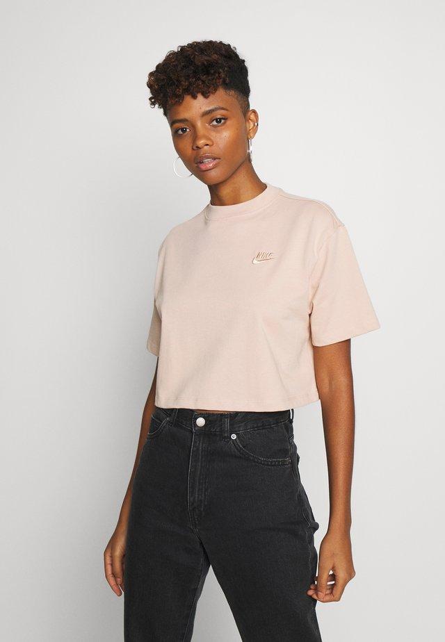 T-shirt med print - shimmer