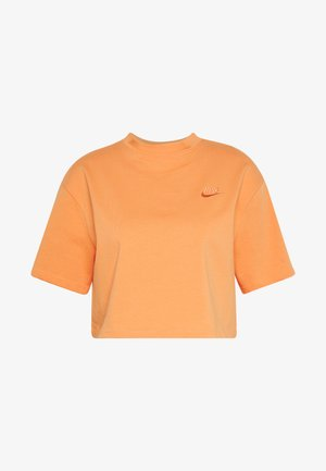 T-shirts med print - orange trance