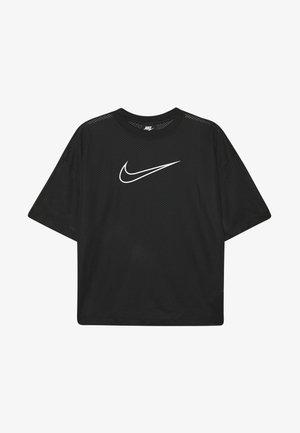 W NSW - Camiseta estampada - black/white