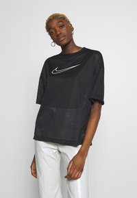 Nike Sportswear - W NSW - T-shirts med print - black/white - 0