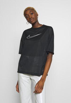TOP - T-Shirt print - black/white