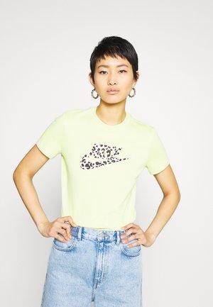TEE - Print T-shirt - limelight