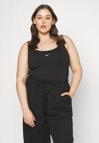 Nike Sportswear - TANK BDYSUIT - Topper - black/white - 0
