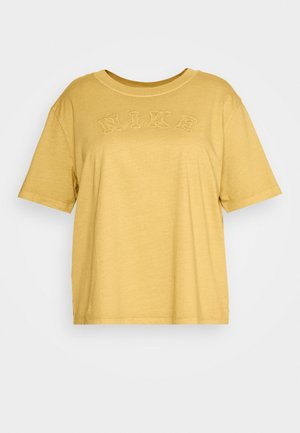 WASH TOP PLUS - Basic T-shirt - infinite gold