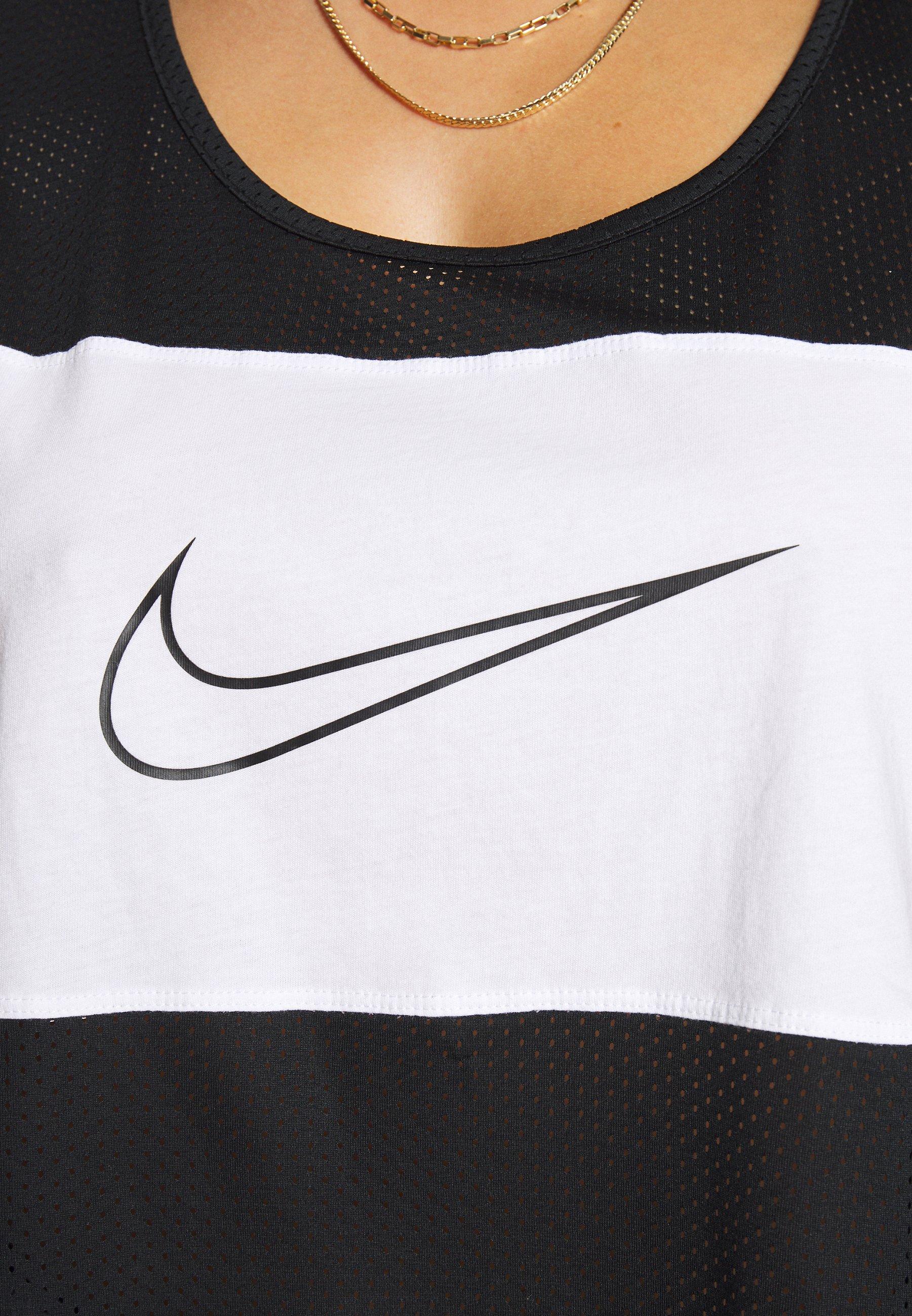 Nike Sportswear PLUS TANK - Topper - black/white