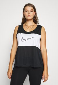 Nike Sportswear - PLUS TANK - Topper - black/white - 0