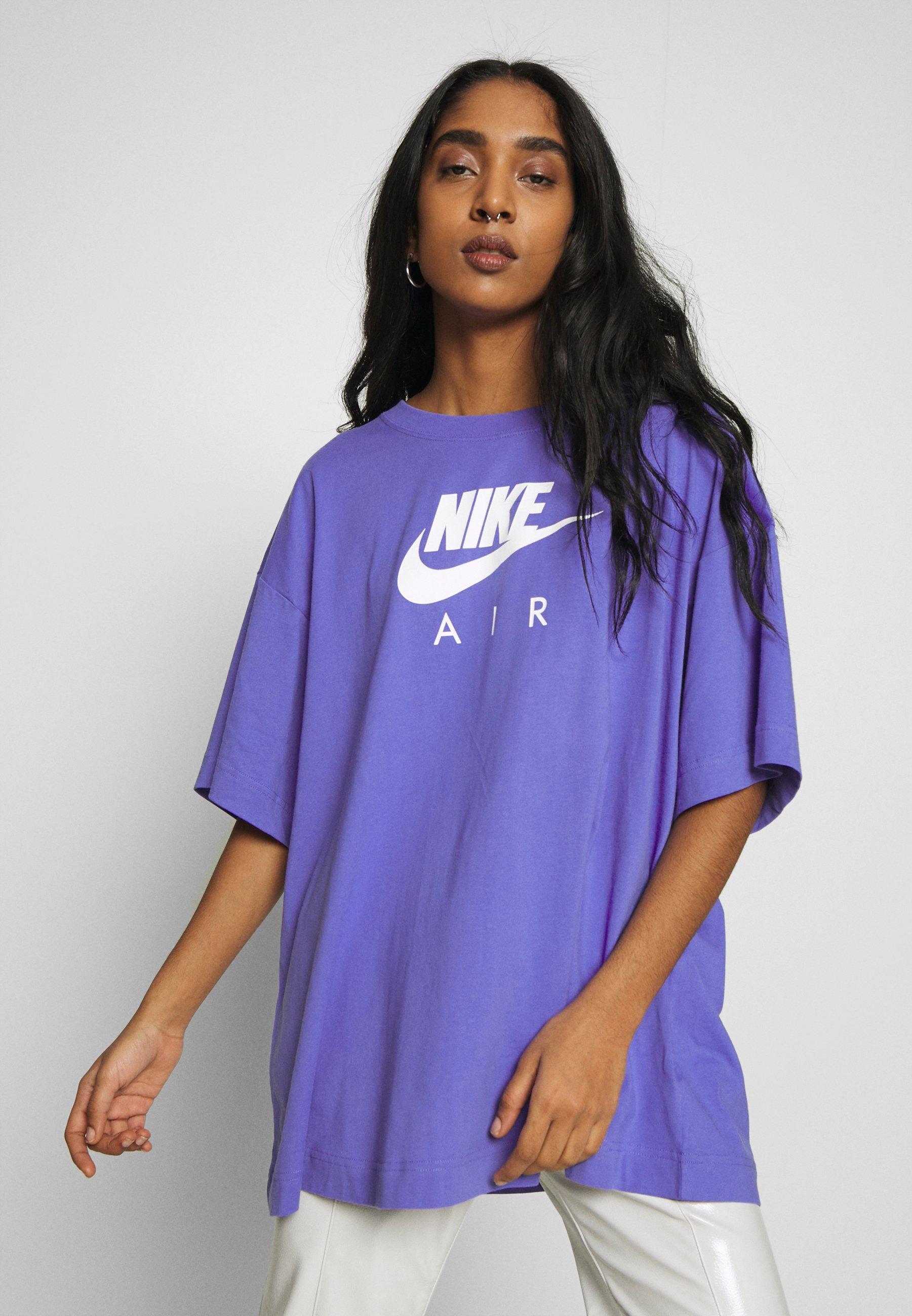 Nike Sportswear AIR TOP PLUS - T-shirt z nadrukiem - sapphire